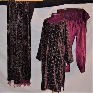 Dresses & Skirts - Shalwar Kameez (3 piece)